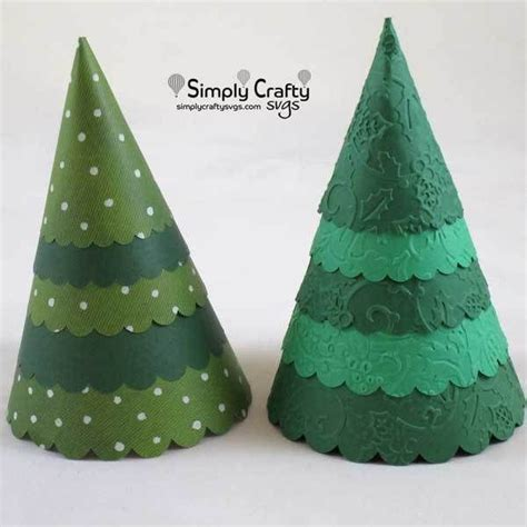 These files ready to be used with any cutting machine or program that support this format such as : Cone Christmas Tree SVG File | Cone christmas trees, Tree ...