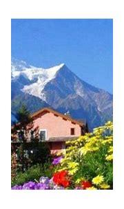 Beautiful Scene of Home on Mountains ~ Artline : Feel The ...