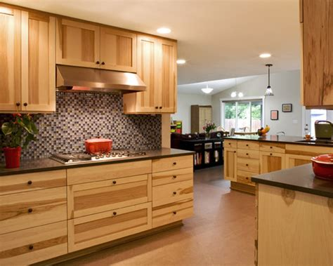 denver hickory kitchen cabinets 20 rustic hickory kitchen cabinets design ideas 6537