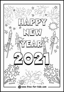 new year 2021 coloring pages coloring home