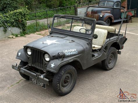 american army jeep willys jeep m38a1 1953 military american usa army classic