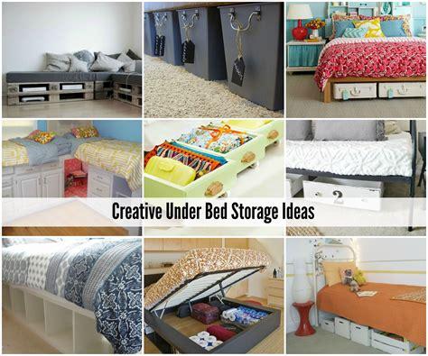 creative bedroom storage ideas creative under bed storage ideas the idea room clipgoo