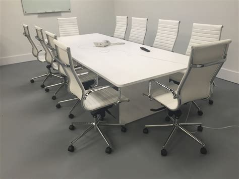 10 foot slab base modern conference table direct office