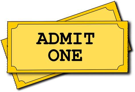 Ticket Clip Cinema Ticket Clip At Clker Vector Clip