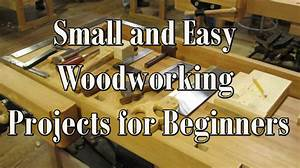 Small and Easy Woodworking Projects for Beginners - Table