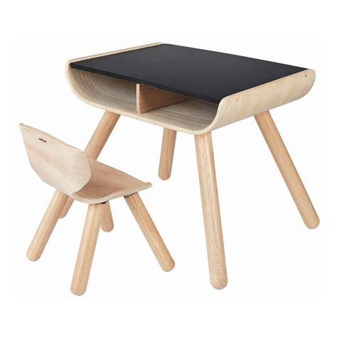 kinder tisch stuhl schwarz plan toys kaufen