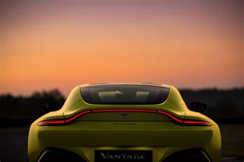 Aston Martin Vantage Backgrounds by Aston Martin V8 Vantage 2018 Unveiled Fortune