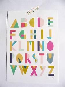 les 25 meilleures idees de la categorie alphabet de With affiche chambre bébé avec eastpak imprimé fleuri