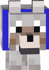 Minecraft Wolf Head | www.imgkid.com - The Image Kid Has It!