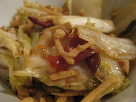 cuisiner le chou chinois marmiton choux chinois à la chinoise recette