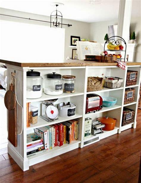 diy ikea kitchen island 25 ikea billy hacks that every bookworm would love hative
