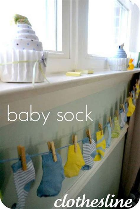 Decorating Ideas For Baby Shower by Cheap Diy Decorating Ideas For Baby Shower