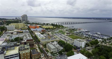 aerial   downtown fort myers