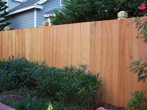 wooden privacy fence panels  simple oak privacy fence