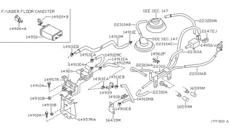 2000 Xterra Vacuum Diagram by Nissan Xterra Belt Replacement Diagram Imageresizertool