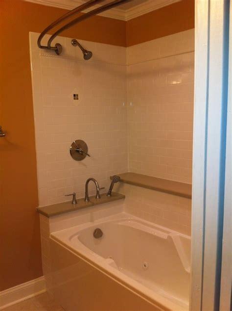 bathroom remodel with jet tub