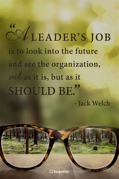 leaders job      future
