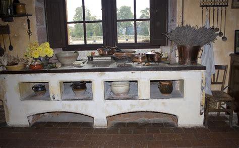 potager de cuisine cuisine moderne dans maison ancienne