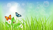 19 Grass Vector Background Graphics Images - Illustrator ...