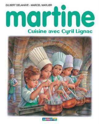 livre cuisine cyril lignac martine cuisine avec cyril lignac quand martine part en