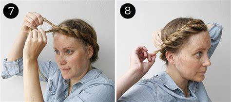 Easy Updo: Twisted Crown Braid   more.com