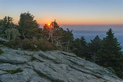 grandfather mountain hosts weekly sunrise sunset viewings
