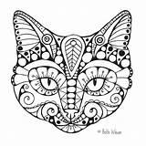 Coloring Adult Mandala sketch template