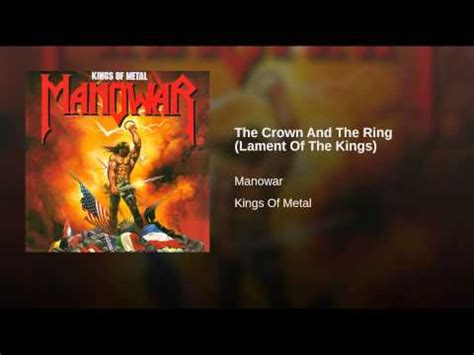 The Crown And The Ring (lament Of The Kings) Youtube