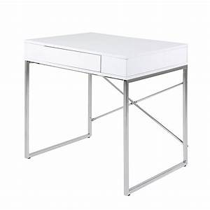 Schreibtisch 80 Cm Lang : schreibtisch wei hochglanz preisvergleich die besten angebote online kaufen ~ Bigdaddyawards.com Haus und Dekorationen