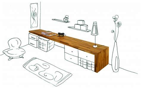 plan bureau de travail bureau flip design boisflip design bois