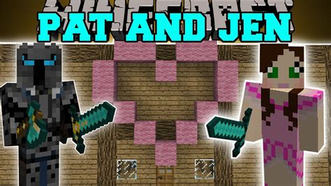 minecraft pat  jen mod jens house fansion sky castle mod showcase youtube