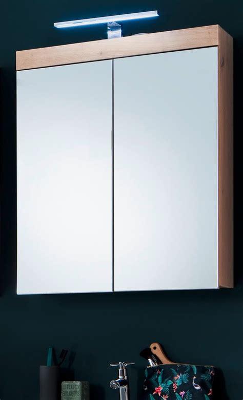 Badezimmer Spiegelschrank Eiche by Badm 246 Bel Spiegelschrank Eiche Asteiche 60 Cm