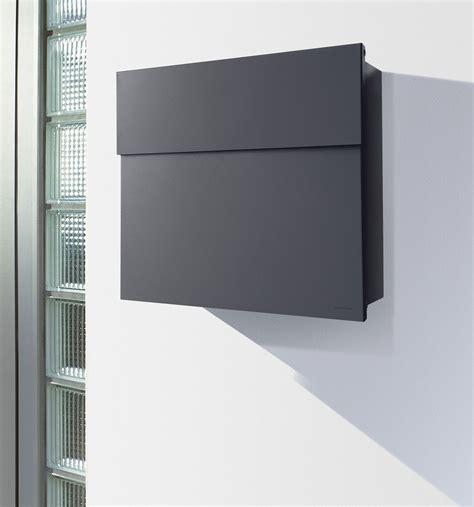 Briefkasten Modern Design by Radius Briefkasten Letterman 4 Anthrazitgrau Ral 7016