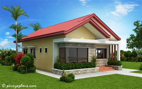 single storey  bedroom house plan pinoy eplans