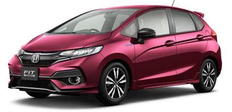 Novo Honda Fit 2019 Preço Ficha Técnica Consumo Versões
