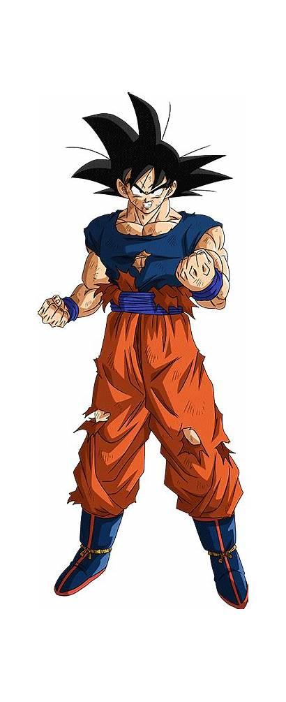 Goku Maxiuchiha22 Damaged Saga Buu Dragon Ball
