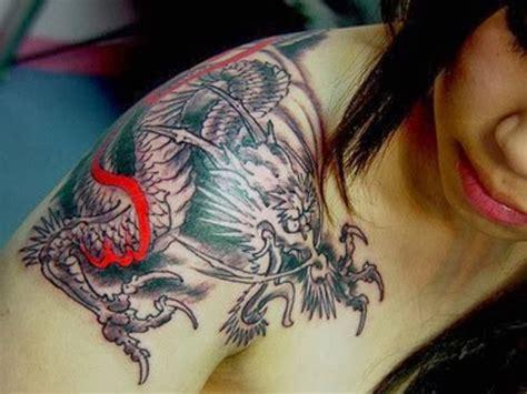 Tattoo Gallery For Men Japanese Dragon Shoulder Tattoos