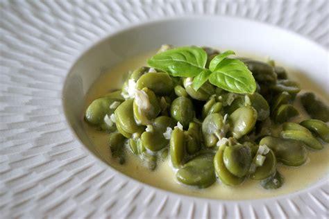 cuisiner des feves fèves à la crème recette des fèves à la crème par chef simon