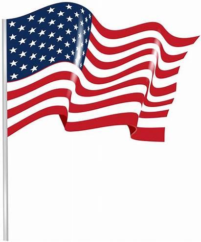 Flag Transparent Waving Clip Clipart Pennant America