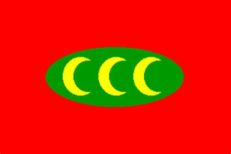 flag of the ottoman empire ottoman empire flags depicted on colton s chart 1862