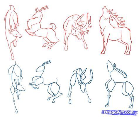 steps  step  drawing  deer   draw deer