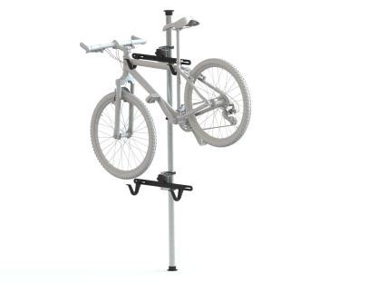 Ceiling Bike Rack Horizontal by Bike Rack Floor To Ceiling For Two Bikes
