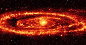 Andromeda in the Infrared   Earth Blog