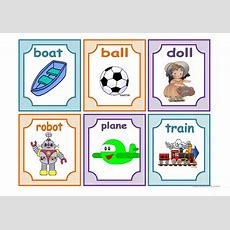 Toys Flashcards Worksheet  Free Esl Printable Worksheets Made By Teachers
