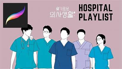 Playlist Hospital Drawing Procreate