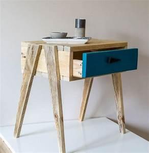 Acheter Meuble En Palette Bois : les 25 meilleures id es concernant tables de nuit palettes ~ Premium-room.com Idées de Décoration