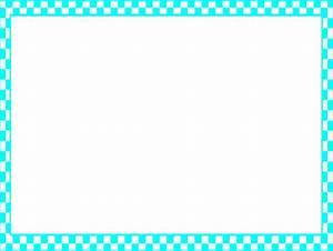 Blue Checkerboard Frame Clip Art at Clker.com - vector ...