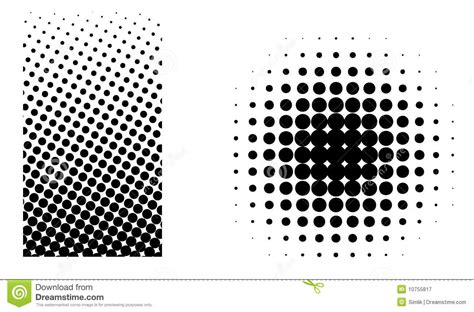halftone elements vector royalty  stock photography