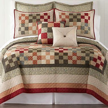 jcpenney home expressions arlington quilt accessories rv home decor quilts comforters