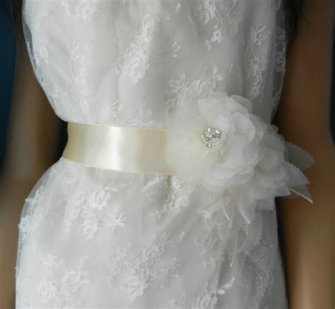 sash bridal wedding dress sashes belts bride sash with